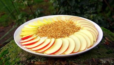 Apfel-Mascarpone Creme