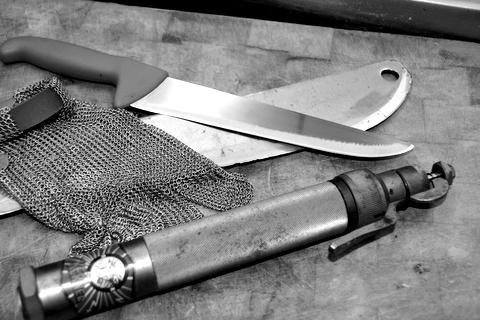 Werkzeug für Schlachter